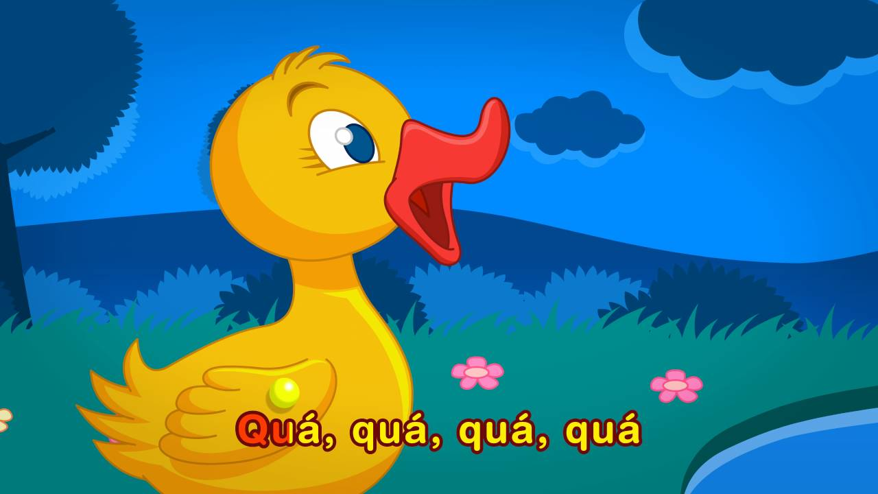 【歌詞】Pintainho Amarelinho – Cinco Patinhos